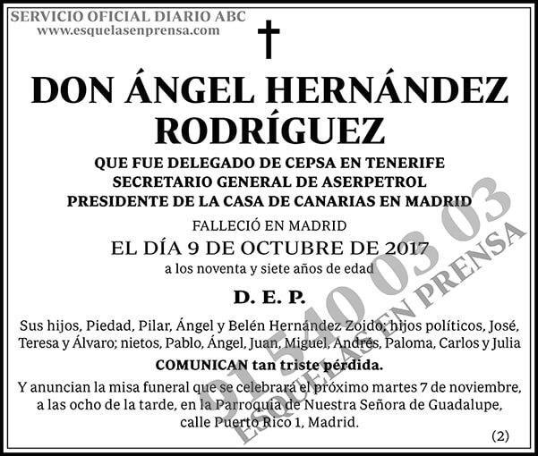 Ángel Hernández Rodríguez